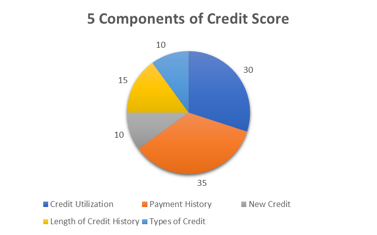 5 Components of Credit Score