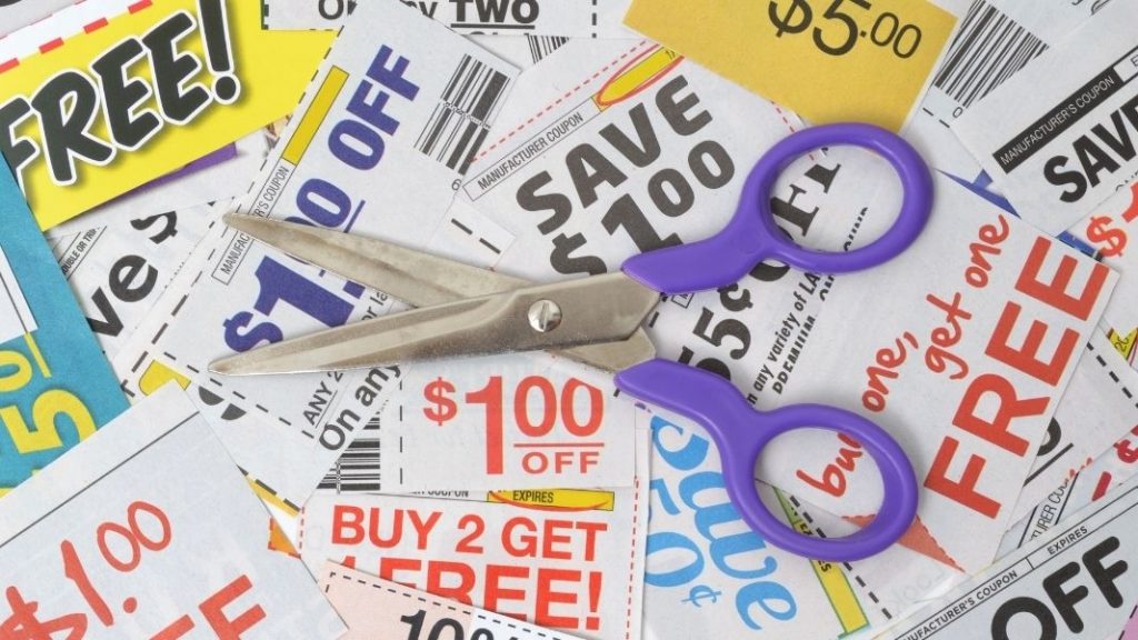 couponing to be debt free