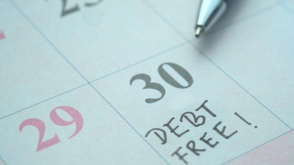 start your debt free journey